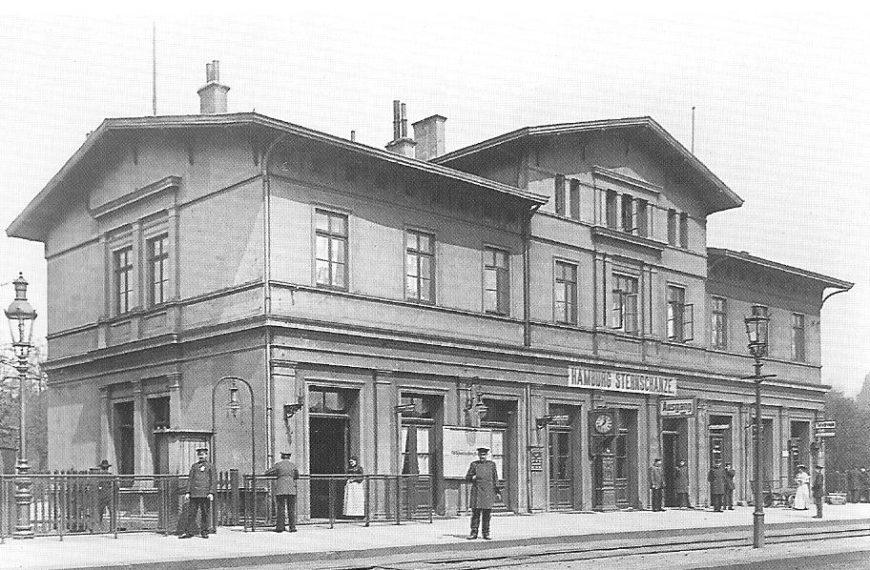 DamalsHeute: Altes Bahnhofsgebäude Sternschanze
